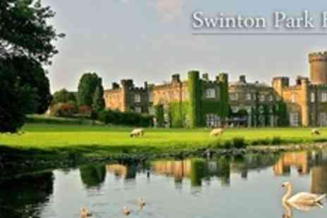 Swinton Park - One Night Stay For Two in Ripon North Yorkshire - Save 61%