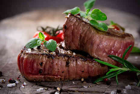 Salvatores Kitchen - Two Course Italian Steak Meal with a Bottle of Wine - Save 47%