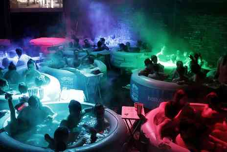 Hot Tub Cinema -  Two Tickets to a Choice of Movie such as The Lion King or Bridesmaids  - Save 35%