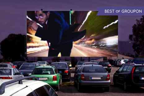 Route 66 Drive in Cinema -  Film For Four With Popcorn - Save 53%