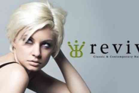 Revive - Cut and Blow Dry With Hair Treatment - Save 62%
