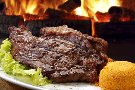 GiGis Mayfair - Italian T Bone Steak Meal for Two with Sides and a Bottle of Wine - Save 51%