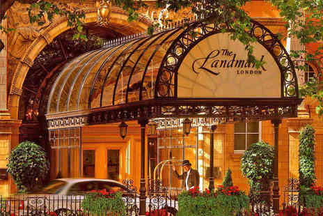The Landmark - Luxury Spa Day with Treatments and Afternoon Tea - Save 21%