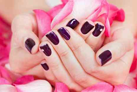 Inches Beauty Salon - Gel Polish on Hands and Feet Plus Eyebrow Tint and Spray Tan  - Save 75%