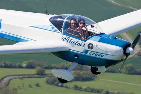 MotorGlide - 45 Minute of Flying Experience  - Save 50%