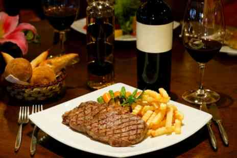 The Angel Inn  - Steak Meal with a Glass of Wine for Two  - Save 40%