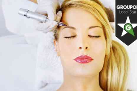 Inches Beauty Salon - Semi Permanent Make Up For Eyebrows or Eyeliner   - Save 78%
