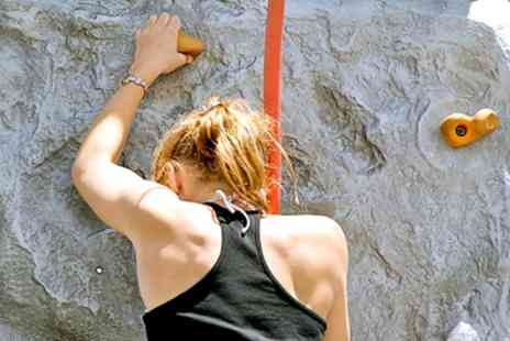 Extreme Ventures - Three Hour Outdoor Climbing Experience for One - Save 0%