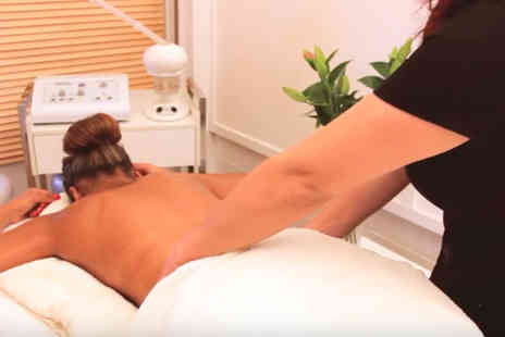 Feel Better Now - One hour  slimming pamper package including pressotherapy, laser lipo and a bamboo massage  - Save 85%
