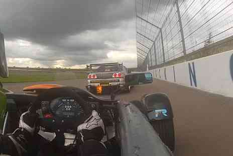 The Real Gran Turismo  - Three Lap Passenger Ride in Ariel Atom on a Choice of Racecourse  - Save 51%