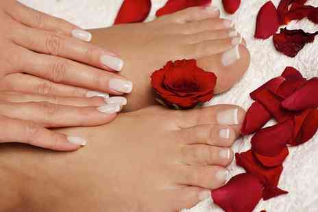 Beauty Box - Luxury Manicure, Pedicure or Both - Save 50%