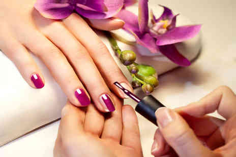 The Beauty Lounge - Gel Nail Polish or Full Set of Acrylic Nail Extensions - Save 64%