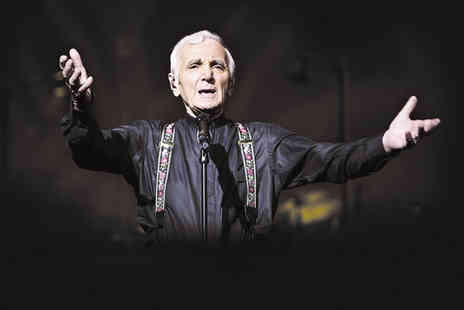 Ingresso - Tickets to Charles Aznavour at the Royal Albert Hall on Tuesday November 3rd - Save 9%
