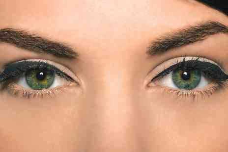 The Pamper Room - Cluster Party Lashes With Eyebrow Tinting or Waxing - Save 50%