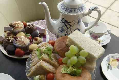 Woodhouse Farm Lodge - Vintage Afternoon Tea for Two  - Save 0%