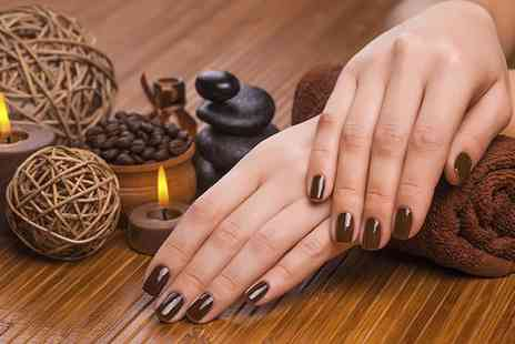 Shimmer Salon - Luxury Manicure, Pedicure or Both  - Save 42%