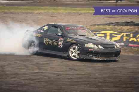 Flatout Factory - Introduction to Drift Course for One - Save 70%