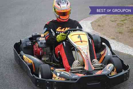 Elk Motorsport - 15 Minute Karting Experience on 1100m Outdoor Circuit for One  - Save 0%
