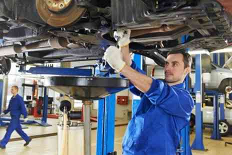 Unique Car Services - 52 Point Car Service with Oil and Filter Change  - Save 42%