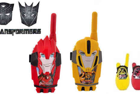 Sonic - A Choice of Transformers Walkie Talkies - Save 48%