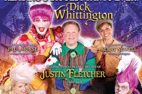 Hexagon Theater - Dick Whittington Tickets For Starring Justin Fletcher - Save 38%