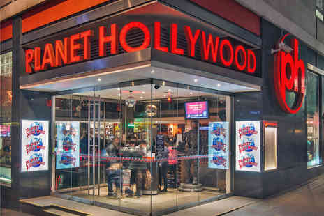 Planet Hollywood Restaurant - Lunch or Dinner  - Save 38%