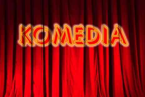 Komedia Brighton - Entry to Krater Comedy Club for One - Save 50%