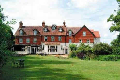 Moorhill House Hotel - One Night Hotel Escape with Dinner for Two  - Save 40%