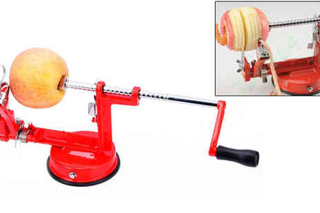 Plus Bee - Three in One VonShef Apple Corer And Peeler - Save 40%