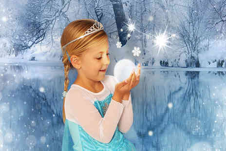 Andreas Photography -  Frozen or fairy and elf inspired photoshoot for up to 2 kids including 2 prints and a goody bag   - Save 94%