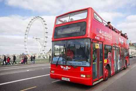 London City Tour - 24 Hour Hop On Hop Off Bus Ticket for an Adult and Optional Child  - Save 40%