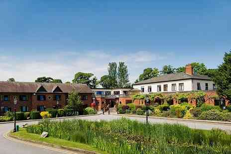 Bredbury Hall Hotel - One or Two Nights stay For Two With Breakfast and Dinner - Save 50%