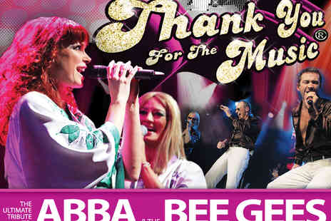 Entertainers Management   - Tickets to Thank You For The Music ABBA and Bee Gees Tribute Show - Save 19%