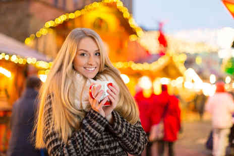 Abbey Travel - Day long guided coach tour to festive Salisbury or Bath Christmas markets - Save 58%