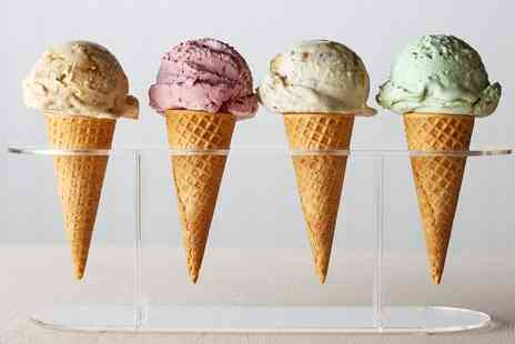Cara Mia Desserts - One Scoops of Gelato In a Cone or a Tub  - Save 0%