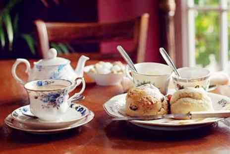 The Secret Garden - Afternoon Tea & Bubbly for Two - Save 37%