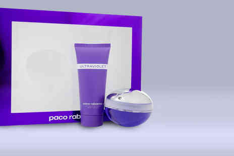 My Perfume Room -  Paco Rabanne Ultraviolet EDP gift set - Save 44%