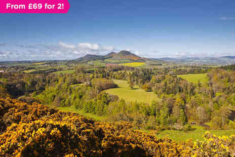 The George and Abbotsford Hotel - One night stay  in the Scottish Borders - Save 0%
