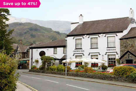 The Crown Inn - Four night stay for two in The Lake District - Save 41%