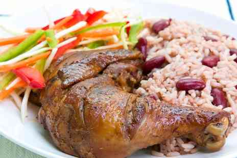 Cafe Alleyne - Caribbean Meal for Two  - Save 46%