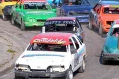 Mendips Raceway - Entrance For Two Adults To Micro Bangers and Destruction Derby Day - Save 60%