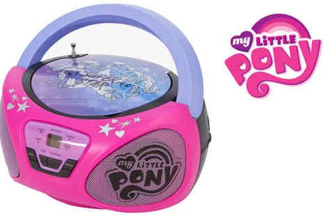 Sonic - My Little Pony AM/FM/CD Boom Box - Save 50%