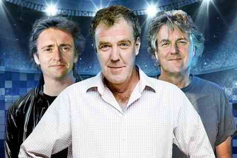 Clarkson, Hammond & May Live - One, two, three, four or five adult tickets to Clarkson, Hammond and May Live  - Save 0%