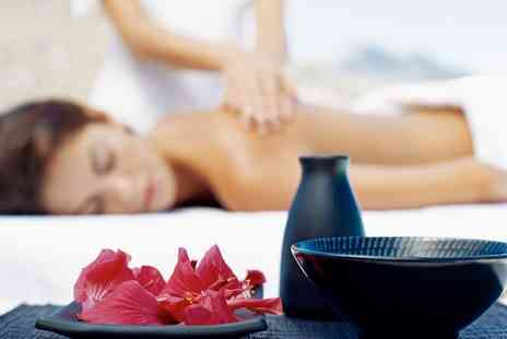 Blossom Garden Organic Beauty - One Hour Aromatherapy Massage with a Facial and Nail Treatment - Save 70%