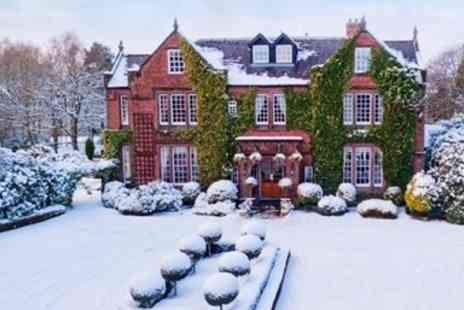 Nunsmere Hall Hotel - Overnight  Cheshire Stay with Cream Tea­ & Bubbly - Save 54%