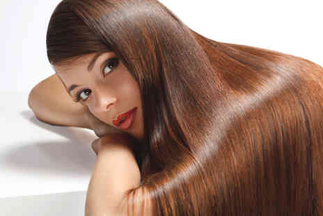 Beauty Box - Bazilian blow dry keratin hair treatment with a senior stylist   - Save 72%