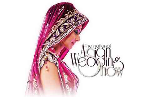 The national Asian wedding show - Entry to The National Asian Wedding Show  - Save 40%