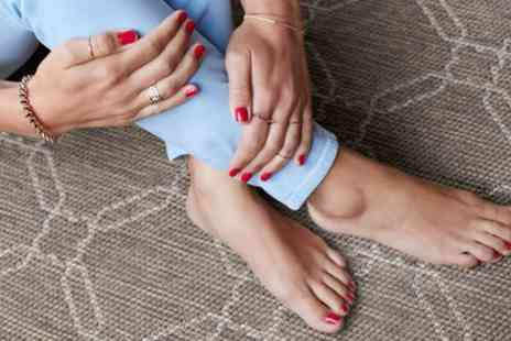 The Pamper Room - Manicure, Pedicure or Both with Paraffin Wax or Mask - Save 20%
