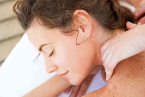 Affinity Beauty Therapy - Reflexology Session with Back, Neck, and Shoulder Massage - Save 62%