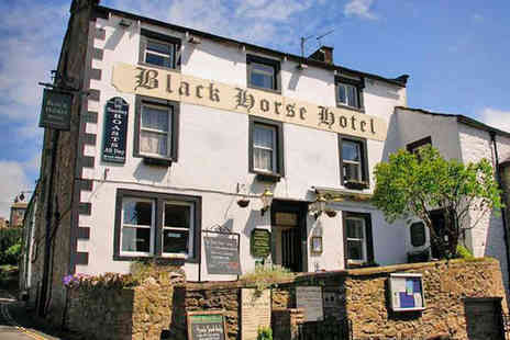 The Black Horse Hotel - Two Night Stay for Two with Breakfast Daily, Two Course Dinner on First Evening and Late Checkout - Save 0%